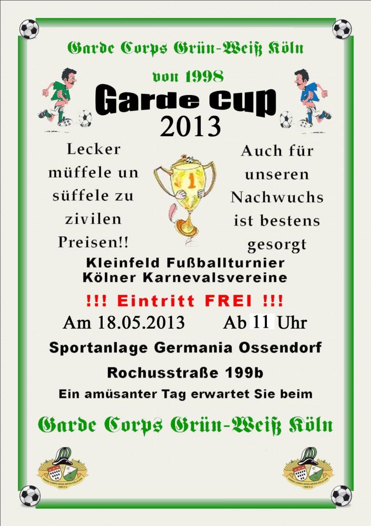 Garde Cup 2013