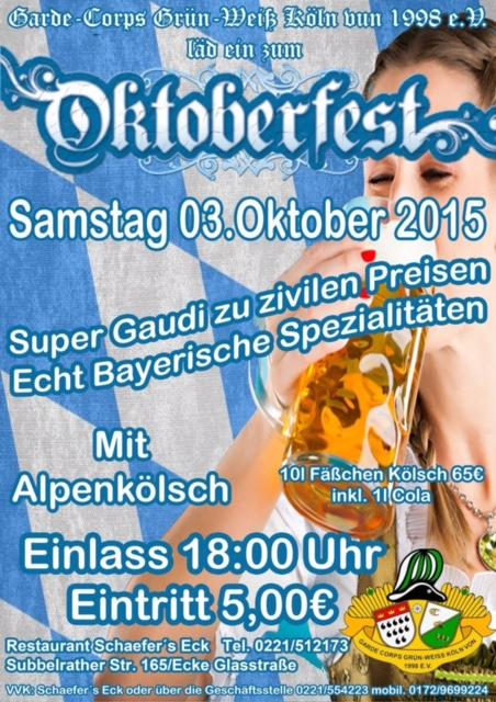 Oktoberfest GardeCorps