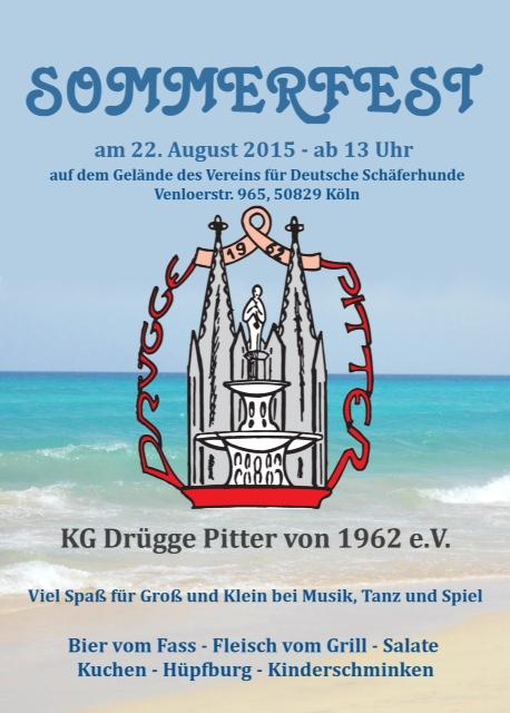 Sommerfest KG DrueggePitter